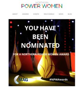 unique ladies networking suzy Orr awards northern power women